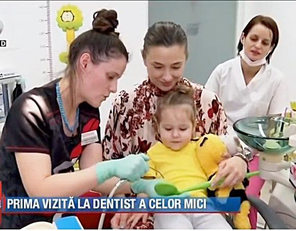 Reportaj Kanal D @ Swiss Ecodent Klinik: Prima vizită la dentist – când, cum, unde?